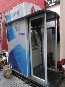 ATM in the Bogyoke Market. Yangon, Myanmar