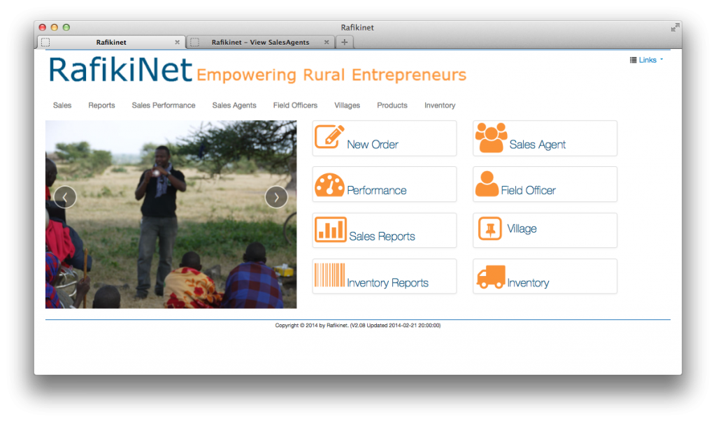 RafikiNet: Business Management Platform for the Rural Last-Mile Distributors