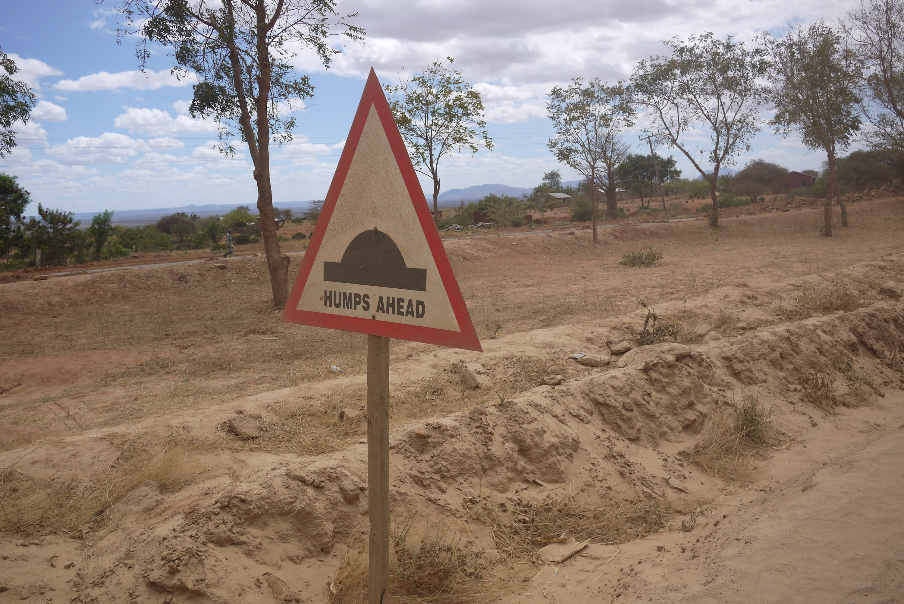 """Humps Ahead"" in Tanzania"